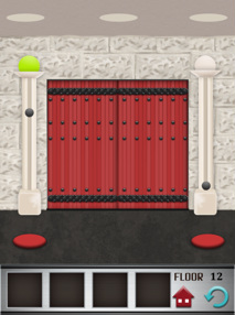 100 floors iphone game level 12 image 2