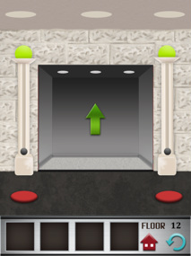 100 floors iphone game level 12 image 3