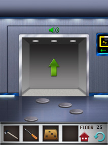 100 floors iphone game level 25 image 3