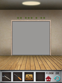100 floors iphone game level 28 image 1