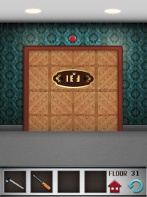 100 floors iphone game level 31 image 2