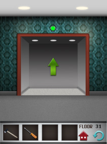 100 floors iphone game level 31 image 3