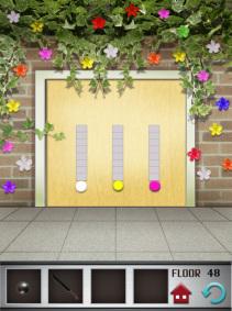 100 floors iphone game level 48 image 2
