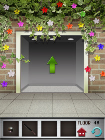 100 floors iphone game level 48 image 4