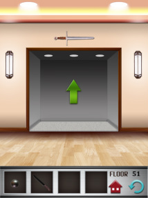 100 floors iphone game level 51 image 3