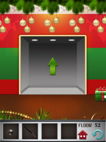100 floors iphone game level 52 image 3