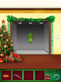 100 Floors Seasons Tower Christmas Level 9 Walkthrough