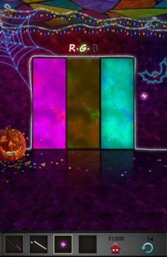 100 Floors Seasons Tower Halloween Level 14 Walkthrough