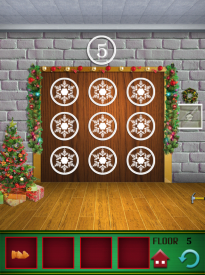 100 Floors Seasons Tower Christmas Level 5 Walkthrough
