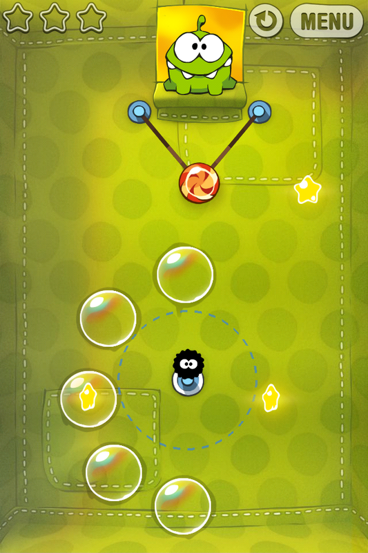 Cut The Rope Level 2 7 Walkthrough