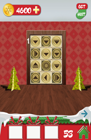 100 doors holiday level 53