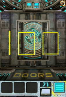 100 doors aliens space level 71