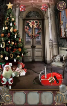 escape the mansion christmas level 12