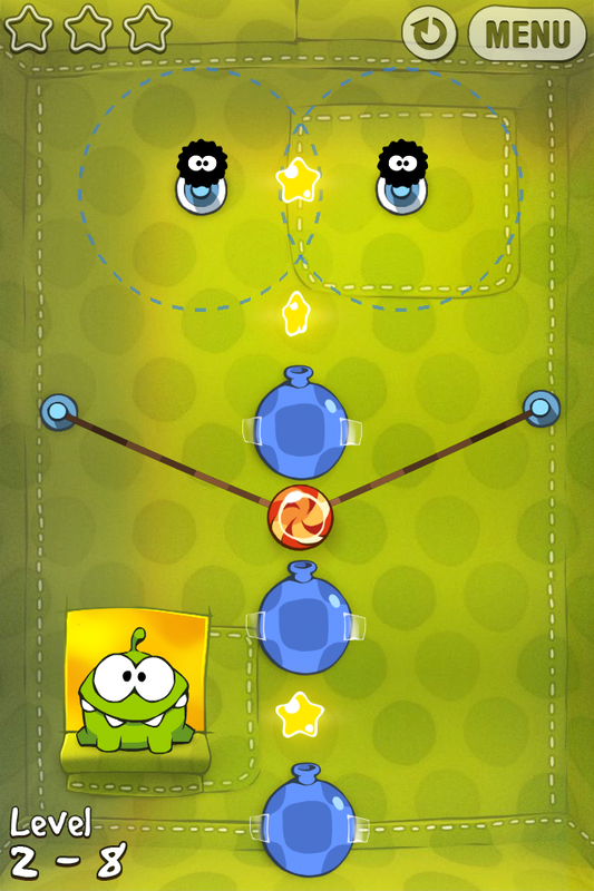Cut The Rope Level 2 8 Walkthrough