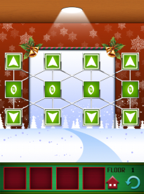 100 Floors Seasons Tower Christmas Level 1 Walkthrough