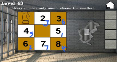 100 Doors Room Escape 78 Chess Game 100 Cells Level 43