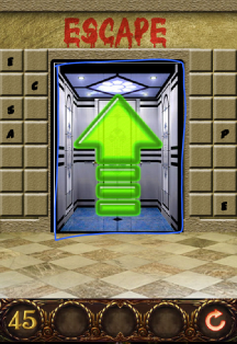 100 doors hell prison escape level 45