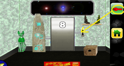 can you escape space doors level 8